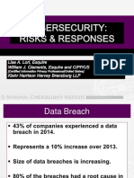 Cybersecurity Risks Responses
