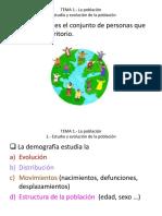 Tema 1 La Población