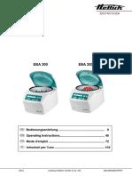 Operator-manual EBA-200 200S de en FR IT