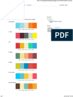 Design_ beautiful color palettes + their hex codes
