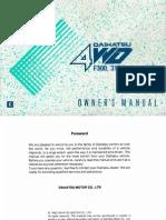 F310 Owner Manual