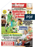 LE BUTEUR PDF du 14/08/2010