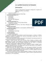Analiza a politicii monetare.doc