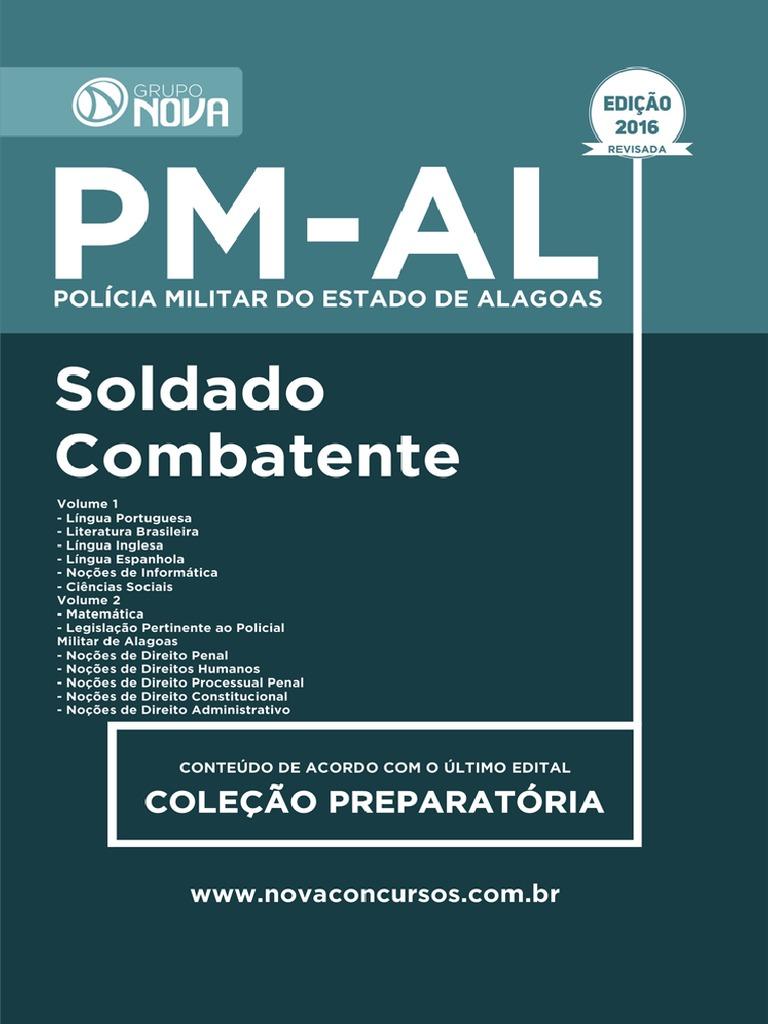 Apostila PM-AL - Soldado Combatente - 673 Pgs - Edição 2016.PDF 066c62cffbbc9
