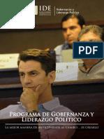Programa de Gobernanza y Liderazgo Politico