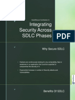 Integrating Security Across SDLC Phases