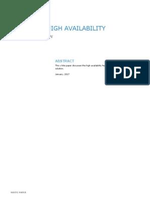 h15162-emc-unity-high-availability pdf | Replication