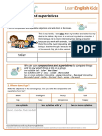 Grammar Games Comparatives and Superlatives Worksheet