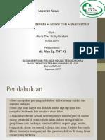 abses coli dan submandibula