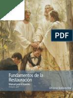 Foundations of the Restoration Maestro Manual Spa