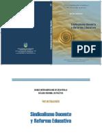 Sindicalismo docente y reforma educativa.pdf