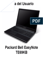 PackardBell User Manual 1.0 a A