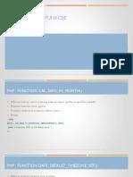 PHP Funkcije