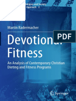 (Popular Culture, Religion and Society. a Social-Scientific Approach 2) Martin Radermacher (Auth.)-Devotional Fitness_ an Analysis of Contemporary Christian Dieting and Fitness Programs-Springer Inter