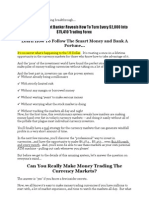Introducing a Forex Trading Breakthrough