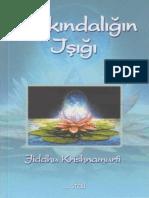 Jiddu Krishnamurti - Farkındalığın Işığı