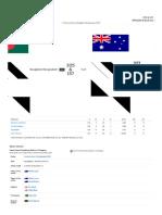 2nd Test, Australia Tour of Bangladesh ...-7 2017 _ Match Summary