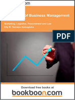 The Basics of Business Management – Vol II