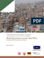 Risk Sensitive Land Use Plan, Kathmandu