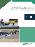 Bentomat Installation Guidelines