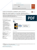 Catalytic Decarboxylation of Naphthenic Acids in Crude Oils