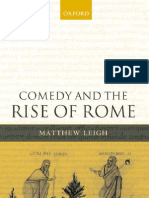 Leigh, Mattew - Comedy and the Rise of Roma