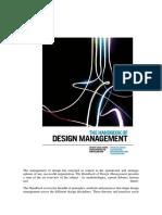 2011 Forthcoming Winter Cooper R Junginger S Lockwood T the Hanbook of Design Management Berg Publishers
