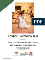 2012 Course Hand Book