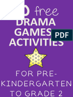 Drama Games and Activities for Pre Kindergarten to Grade 2