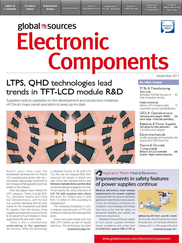 5c7810ec8bd Electronic Components 2017