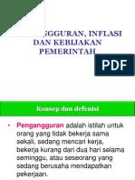 10. (Pengangguran, Inflasi Dan Kebijakan Pemerintah)