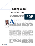 2 5 Treating Aural Hematomas