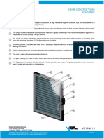 Unicel Specialty Glazing Vision Control Mini Catalog