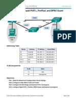 Assist 2.2 Lab - Configuring Rapid PVST+, PortFast, and BPDU Guard.docx