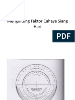 Perhitungan Day Light Factor