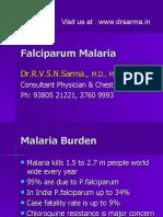 Falciparum Malaria by Dr Sarma.ppt