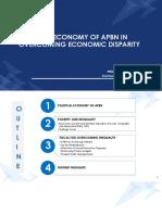 Paparan Kepala BKF - Political Economy of APBN in Overcoming Economic Disparity