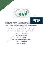 Sistema información perinatal