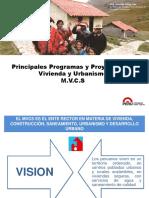 5 Programas y Proyectos en Vivienda y Urbanismo
