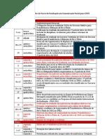 Calendário DCS2010