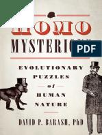 Barash - Homo Mysteries; Evolutionary Puzzles of Human Nature (2012).epub