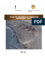 Memoria Descriptiva de Salaverry 2015