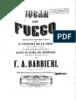 Jugar Con Fuego_barbieri