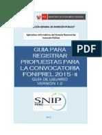 Guia Usuario OPI FONIPREL Registro Propuestas-V1.0