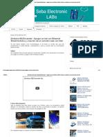 Seba Electronic Labs_ [Arduino 06] Encender - Apagar Un Led Con Ethernet Shield Arduino y Creación de Un Servidor Web Con HTML
