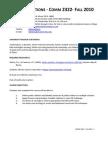 COMM 2322 Public Relations Applications Fall 2010