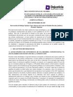 Acción de Inconstitucionalidad Contra El Acto Legislativo 02 de 2015