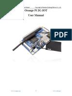 OrangePi 2G-IOT User Manual_v0.9.9