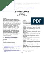 Nordic Records Telenor - Norwegian Court of Appeals 9 Feb 2010