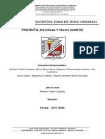 Proyecto Danza y Teatro (DanTe) i.e Juan de Dios Carvajal Medellin